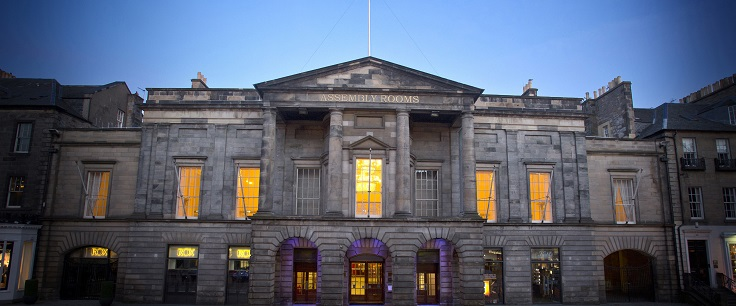 Assembly Rooms At Night 736