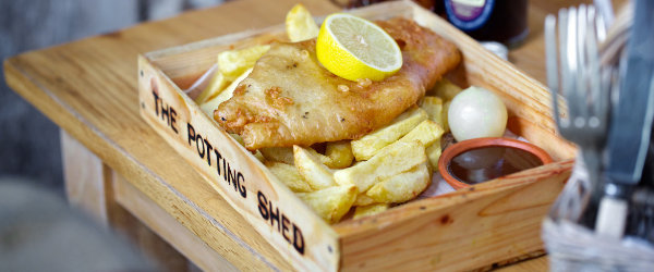 Potting Shed Fish And Chips