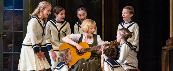 The Sound Of Music UK Tour Lucy Obyrne As Maria Credit Mark Yeoman
