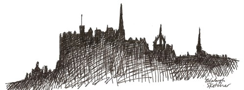 Edinburghsketcher Skyline