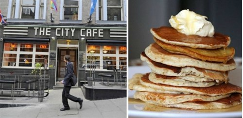 Shrovetuesday Citycafe Collage