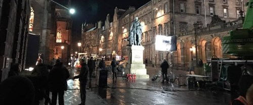 Avengers Royal Mile Filming By Geoff