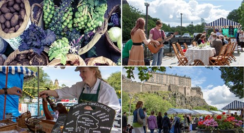Edinburgh Farmers Market - Essential Edinburgh Montage (1)