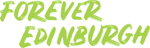 Forever Edinburgh Horizontal Logo Lime RGB