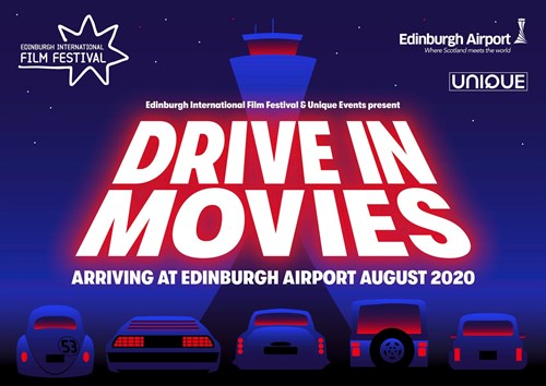 Drive -In Movies At Edinburgh Airport - Promo Graphic (1)