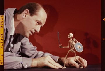 Ray Harryhausen - Resized Image With Scultpure