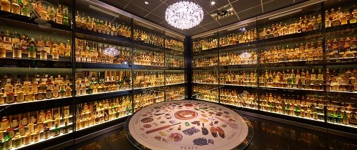 The World 's Largest Collection Of Scotch Whisky 500x 210