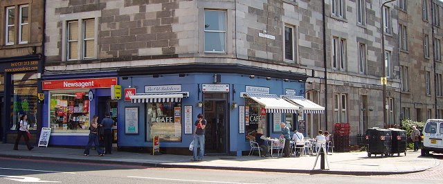 Dalry Road Cafe Richard Webb