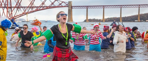 Loony Dook South Queensferry By Visit Scotland