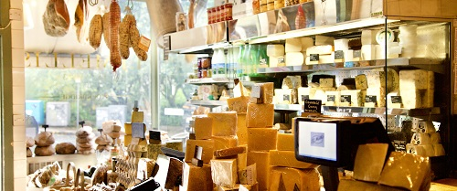 IJ Mellis Inside Shop With Cheese