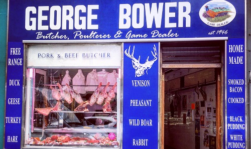 George Bower Exterior Shop