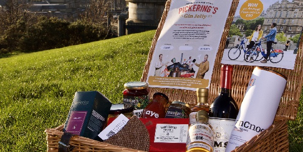 Hamper Image Of Basket With Goodies