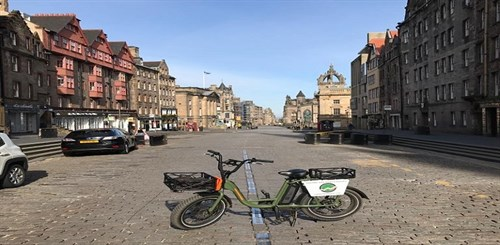 Electric Bike Tours on Royal Mile