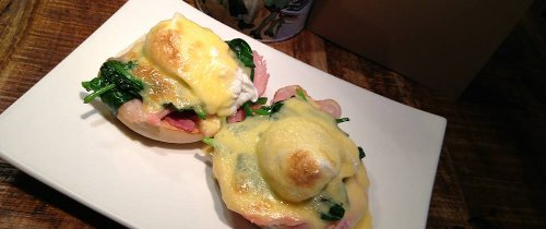 The Huxley Eggs Benedict