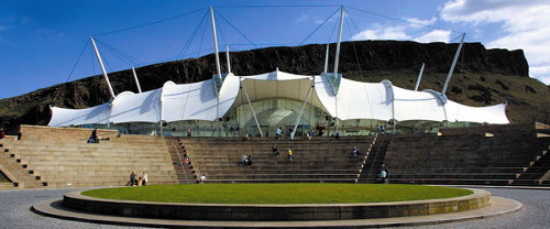 Our Dynamic Earth Outside