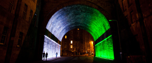Edinburgh Art Festival Regent Bridge Cr Stuart Armitt