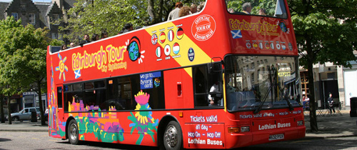 Bus Tour Edinburgh City Sightseeing