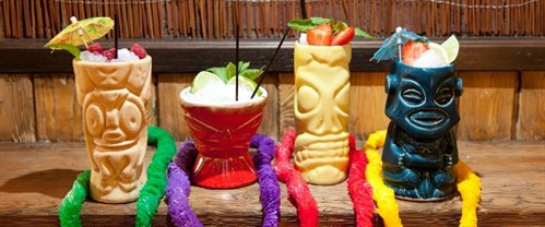 52 Canoes Tiki Den Drinks