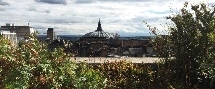 National Museum Of Scotland Rooftop View