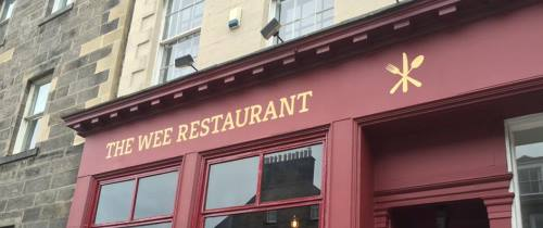 The Wee Restaurant Exterior Credit Facebook