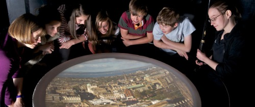 The Camera Obscura Bird'S Eye View Of The City