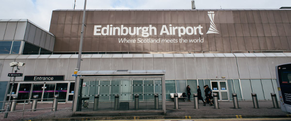 Flights To Edinburgh Come Into Airport Which Lies The West Of City Transport Links From Are Frequent