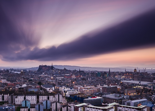 Edinburgh Dusk Skyline Hiducs 500 (1)