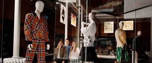 NMS The Catwalk In The Fashion And Style Gallery Photo Peter Dibdin NMS Website 500X210