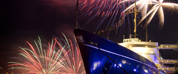 The Royal Yacht Brittania Fireworks