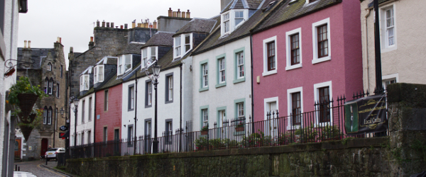 South Queensferry Colourful Street