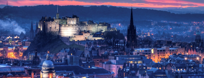 Edinburgh Castle Twilight