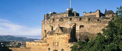 Edinburgh Castle Credit Historic Scotland 500X210