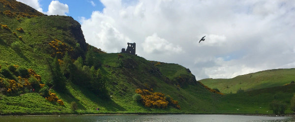 Holyrood Park St Anthonys Chapel