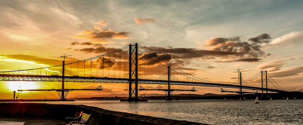 Forth Road Bridge Cr Ian Woodhead
