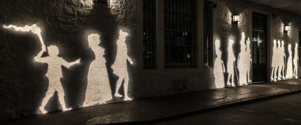 YHHA 2017 Edinburgh Georgian Shadows George Street Lane People Projection Sepia 2 600X250