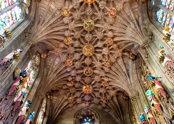 85 Thistle Chapel Ceiling