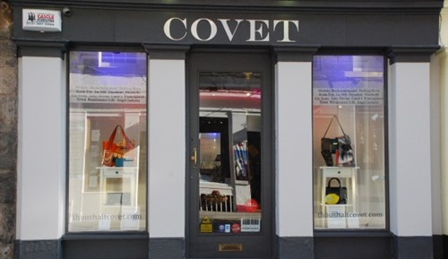 Covet Edinburgh Shop Exterior